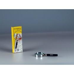 Steelloep vergroting 3x, lensdoorsnede Ø 50 mm