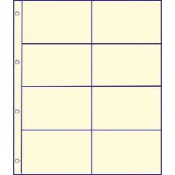 GM 8 tussenbladen IVOOR RUIT (coincards)