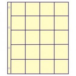 GM tussenbladen IVOOR RUIT (10 stuks) (munthouders)