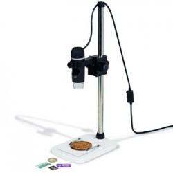 Leuchtturm digitale USB microscoop DM6, met statief