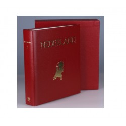 Juweel album Nederland 2, kleur rood, periode 1959-1990