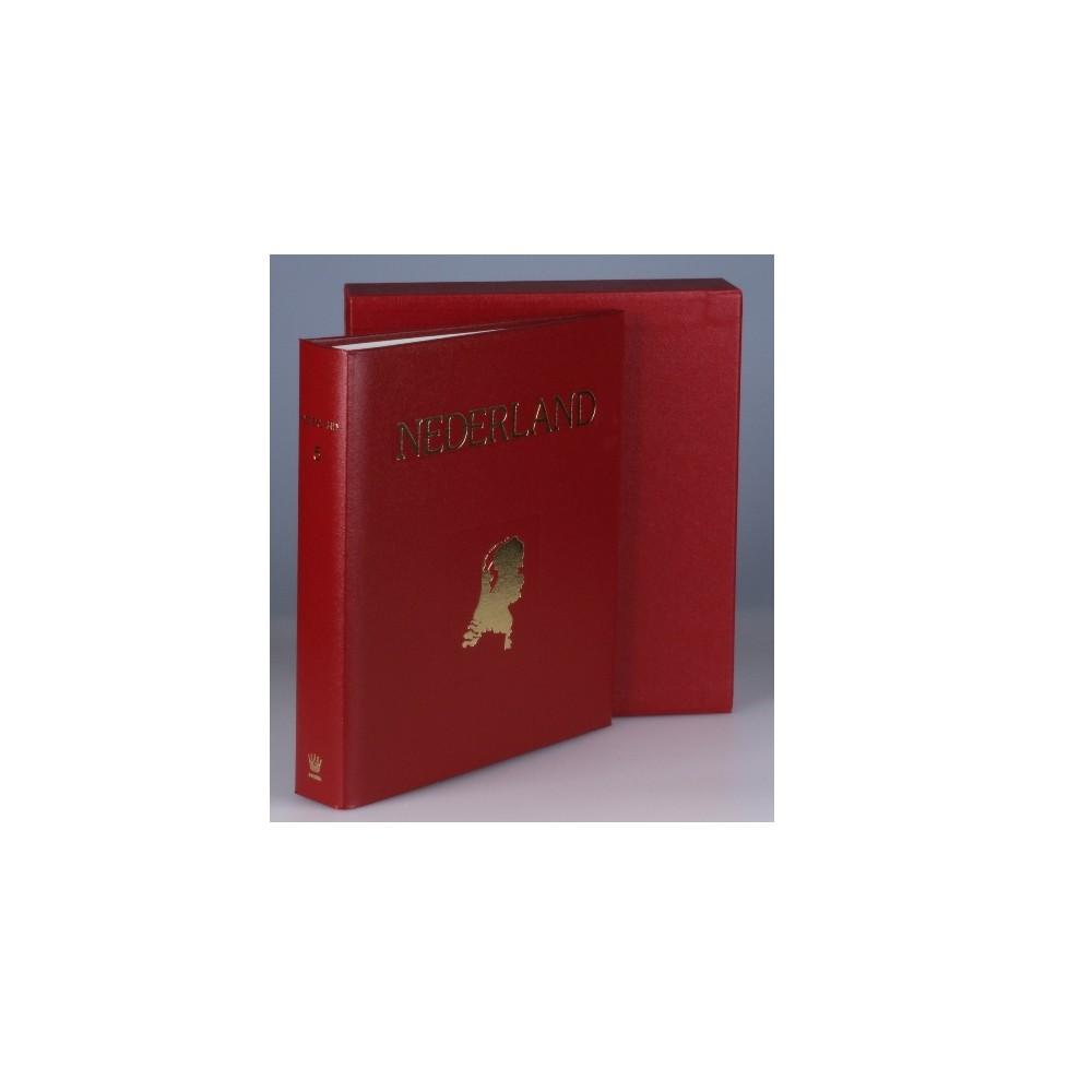Juweel album Nederland 6, kleur rood, periode 2016-2017