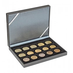 Lindner NERA-XM muntencassette met 15 vakken