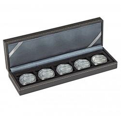 Lindner NERA-S muntencassette met 5 vakken (tot 40 mm)
