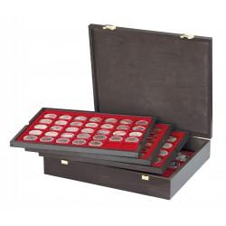 Lindner cassette CARUS voor 127 diverse munten