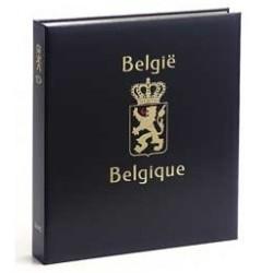 """Davo luxe album Belgie S """"gestempelde-, reclame-, kopstukpostzegels"""""""