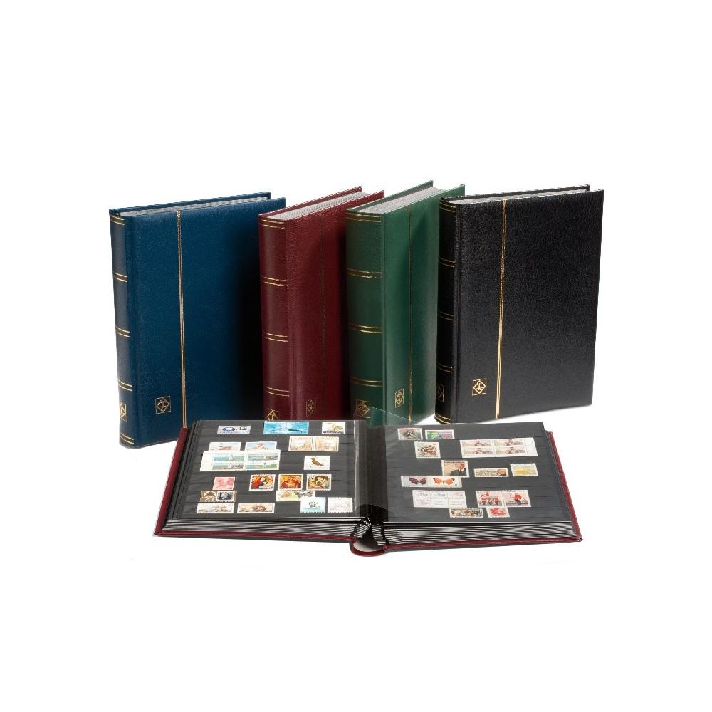 Leuchtturm PREMIUM insteekalbum A4, 16/32 zwarte bladzijden
