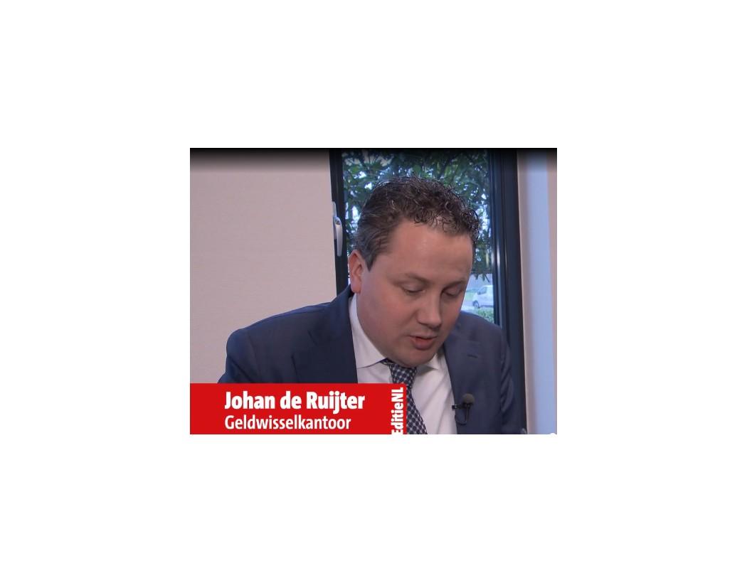 Johan de Ruiter in Editie NL op RTL 4